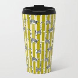 Lemur Lines Travel Mug