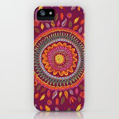 Leafy Fall Mandala iPhone (5, 5s) Slim Case
