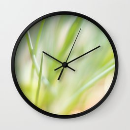 Dreamy  Herbs Chives Wall Clock