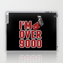 I'm Over 9000 Laptop & iPad Skin