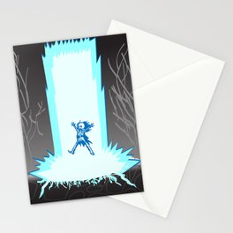 Thundergod Wrath Stationery Cards