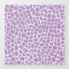 British Mosaic Orchid Canvas Print