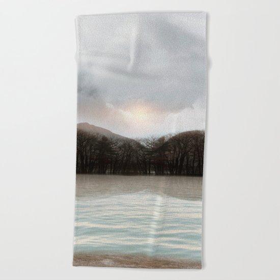 Calm Water Beach Towel