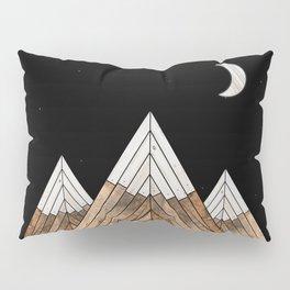 Digital Grain Mountains Pillow Sham