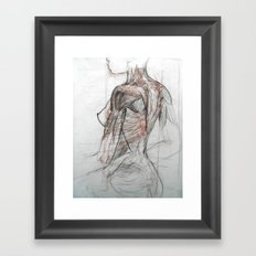Posterior Musculature Framed Art Print