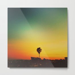 Sunset on Sunset Metal Print