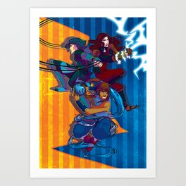 The Ladies of T:LoK Art Print