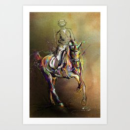 Lead Change. Art Print