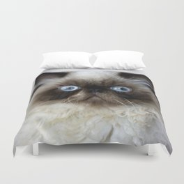 Funny Cat Duvet Cover