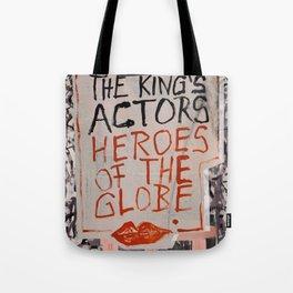 The Globe Kiss Tote Bag