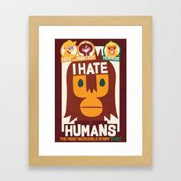 Who's ape Framed Art Print