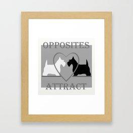 Scotty Dogs  Framed Art Print