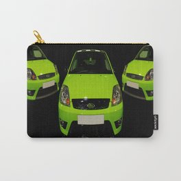Green Ford Fiesta Carry-All Pouch