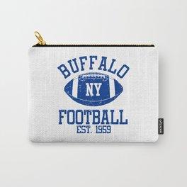Buffalo Football Fan Gift Present Idea Carry-All Pouch