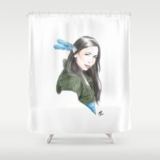 Vex'ahlia Shower Curtain