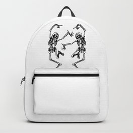 Duo Dancing Skeleton Backpack