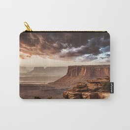 dramatic sky in moab Carry-All Pouch