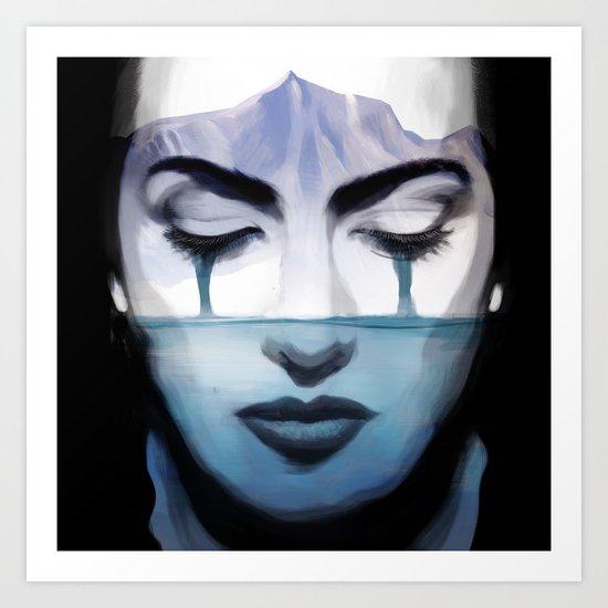 Kate Winslet Art Print