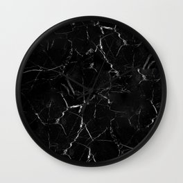 Marble Storm Wall Clock