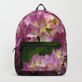Pink Hortensia Backpack