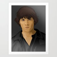 sam winchester Art Prints featuring Sam Winchester by siddick49