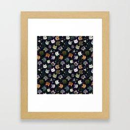 Cosmic Cats Framed Art Print
