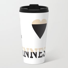 I heart Guinness Travel Mug
