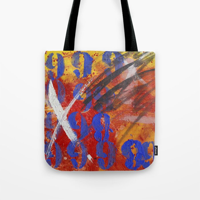 9999 paint Tote Bag
