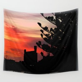 Sunrise at Port of Portland Wall Tapestry