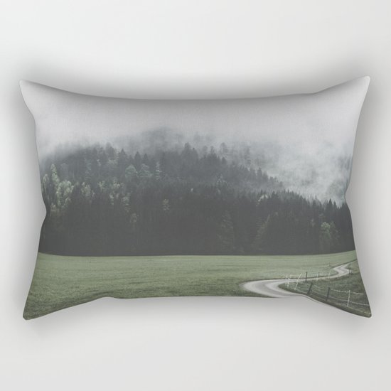 road - Landscape Photography Rectangular Pillow
