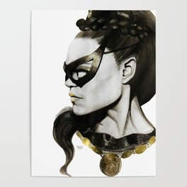 Eartha Kitt IS Catwoman Poster