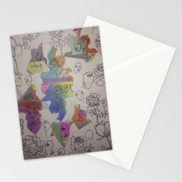 it's an art world Stationery Cards
