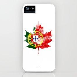 Portugal/Canada iPhone Case