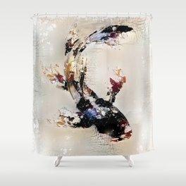 Nishikigoi Shower Curtain