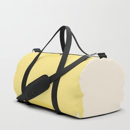 Golden Sunshine Circle Gradient Duffle Bag
