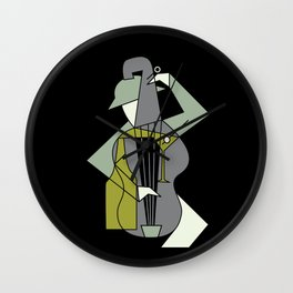 Music&alcohol Wall Clock