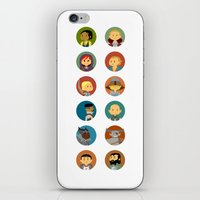 dragon age inquisition iPhone & iPod Skins featuring Cute Inquisition by Panda