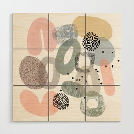 Abstract Wonderland Wood Wall Art