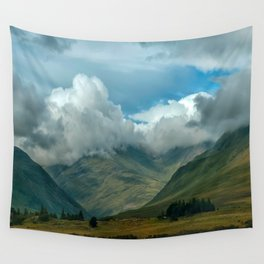 Cloudy afternoon in Connamara Wall Tapestry