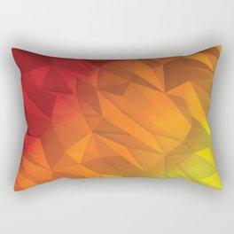 I Love Low Poly 4 Rectangular Pillow