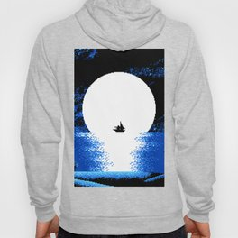 Gazing  the  Moon  at  the  Celestial  Seashore Hoody