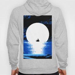 Gazing the Moon at the Celestial Seashore Hoody