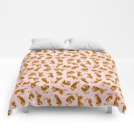 Cute tigers Comforters