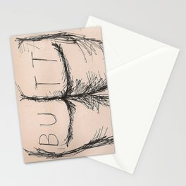 B U T T Stationery Cards