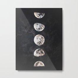 Mistery Moon Metal Print
