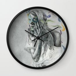 Floats Away Wall Clock