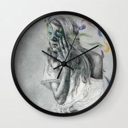 Floats Away Wall Clock
