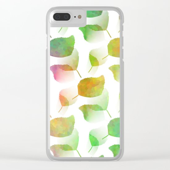 Colorful Nature Clear iPhone Case