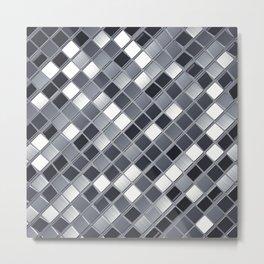Abstract metal backdrop Metal Print