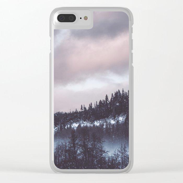 Winter II Clear iPhone Case